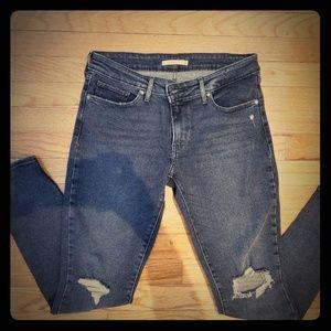 Levi's 711 Skinny Jean's Size 29 NWOT